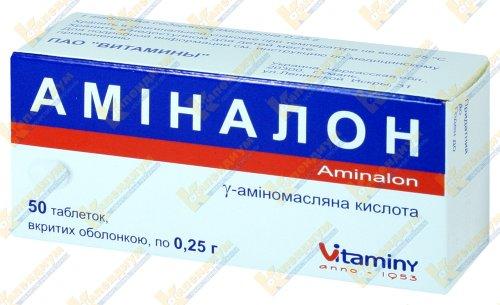 Аминалон: инструкция по применению, цена, отзывы, аналоги препарата