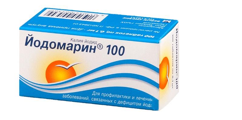 Как правильно использовать калий йодид 100 при заболеваниях щитовидной железы?