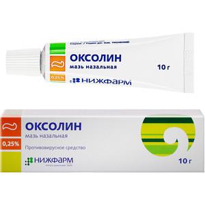 Оксолиновая мазь 3%: инструкция по применению