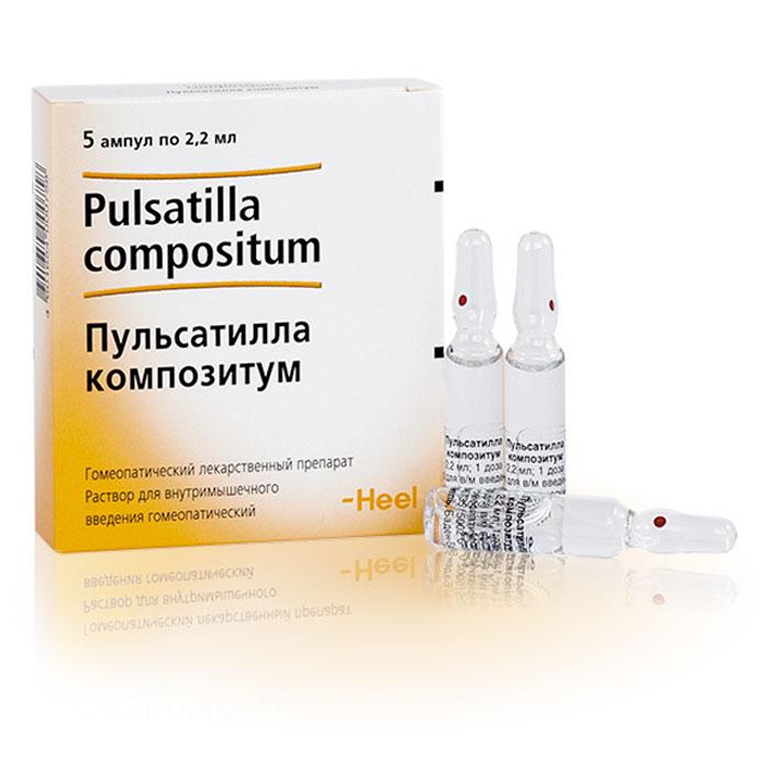 Пульсатилла - инструкция по применению - буарон