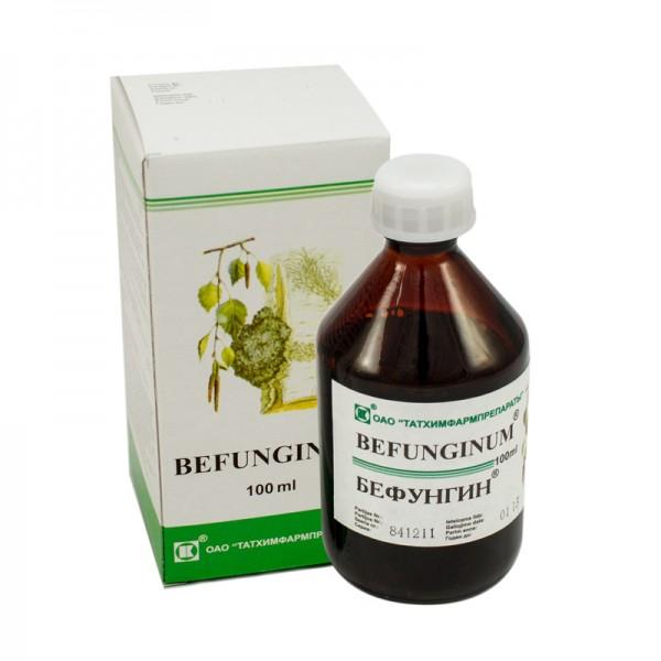 Бефунгин (экстракт, таблетки): отзывы, цена, аналоги, инструкция