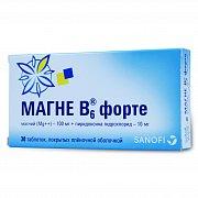 Магне в6 таблетки, раствор для приема внутрь