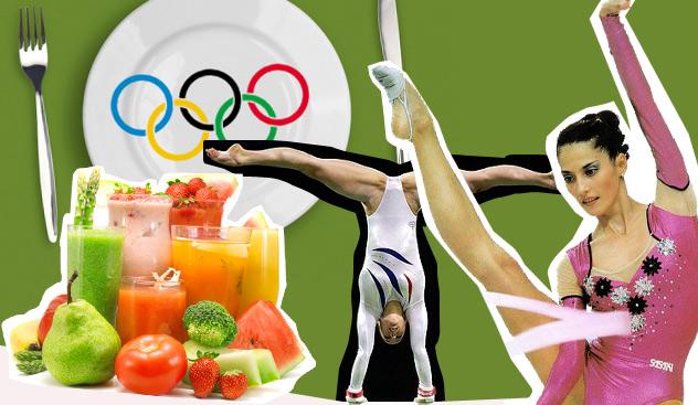 Правильное питание юных гимнасток