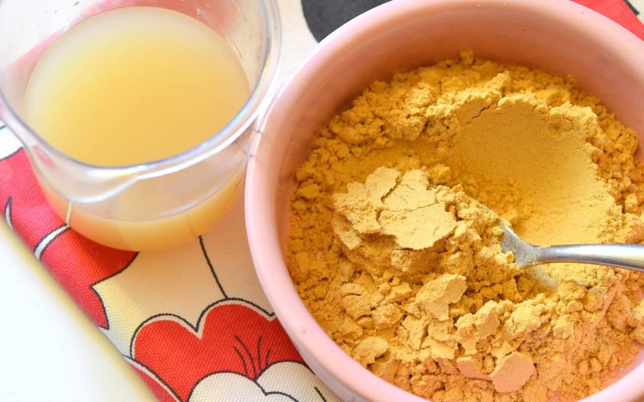 Лепешка от кашля для детей при бронхите