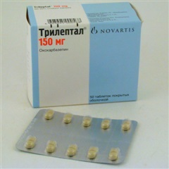 Инструкция по применению трилептала и отзывы о препарате