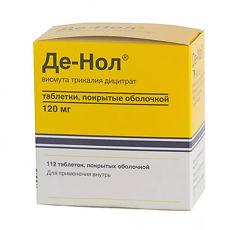 Лекарственный препарат «де нол»