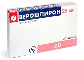 Аналог таблеток верошпилактон
