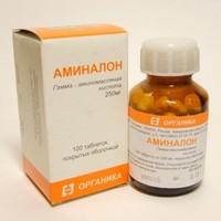Аминалон: инструкция по применению. отзывы, аналоги и цена