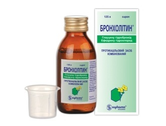Бронхолитин: инструкция к препарату