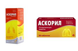От чего помогает «аскорил». инструкция по применению таблеток и сиропа
