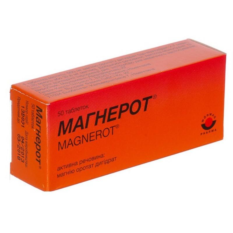 Магнерот – инструкция к препарату, цена, аналоги и отзывы о применении