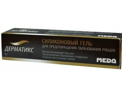 Гель дерматикс: инструкция по применению, аналоги и отзывы, цены в аптеках россии