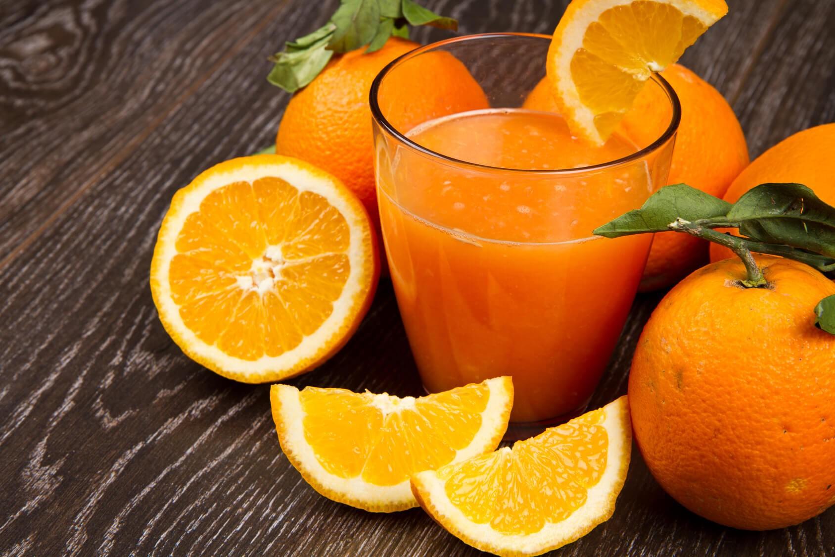 Чем полезен свежевыжатый апельсиновый сок