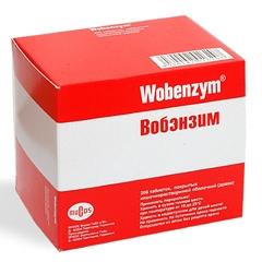 Таблетки вобэнзим: инструкция, цена и отзывы