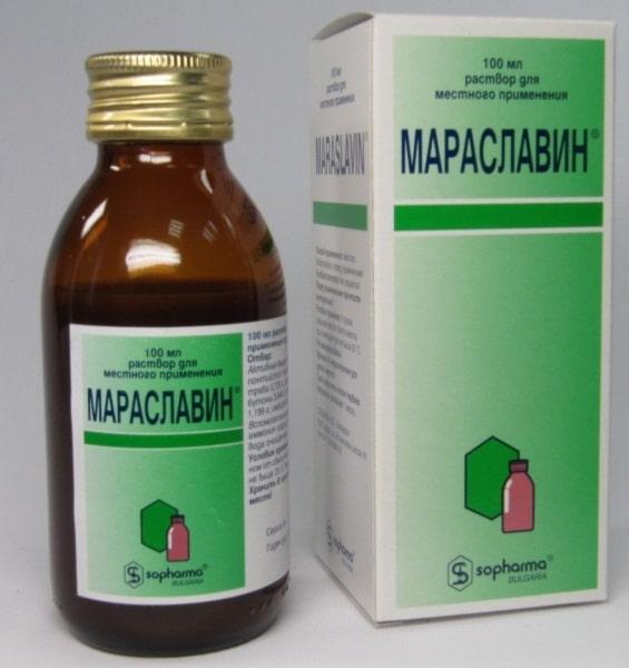 Полоскание мараславином быстро избавляет от боли и воспаления десен