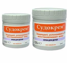Судокрем - инструкция по применению для детей и взрослых
