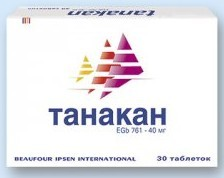 Танакан, инструкция по применению, цена, отзывы, аналоги, видео