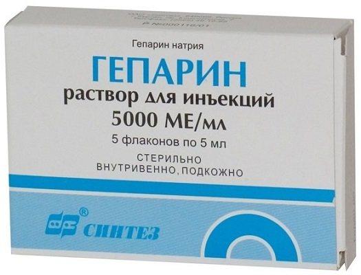 Фармакологические свойства и показания к применению уколов гепарина