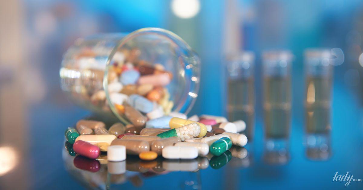 Особенности питания при приеме антибиотиков
