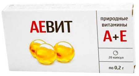 Витамины аевит: состав, инструкция, отзывы