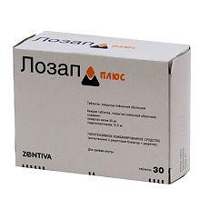 Показания, противопоказания и применение препарата «лозап плюс»