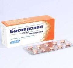 Бисопролол 5 мг — инструкция по применению