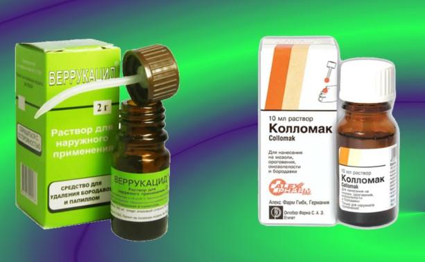 Лекарственный препарат от бородавок и папиллом колломак: отзывы
