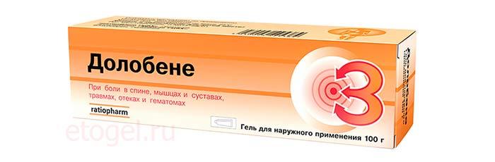 Долонит мосфарма гель