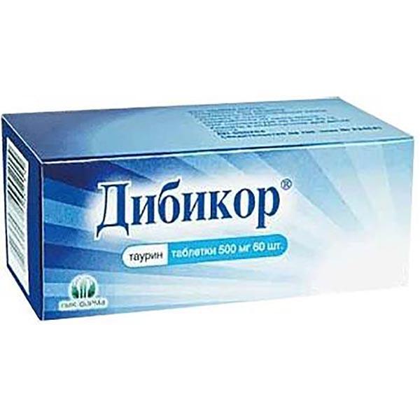 Дибикор 500 — средство для борьбы с диабетом