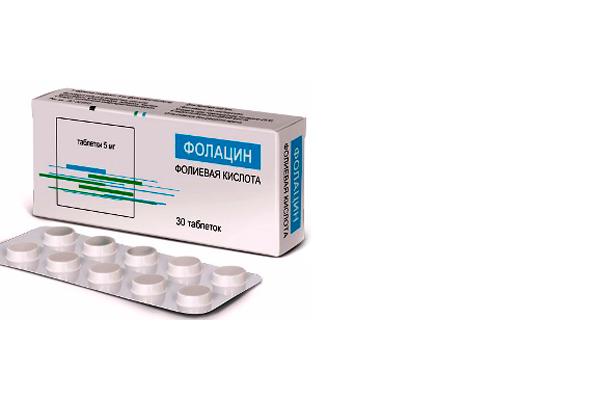 Фолацин — цена, отзывы, фармакологическое действие, показания и противопоказания.