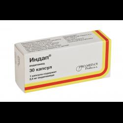 Индапафон — таблетки от повышенного давления