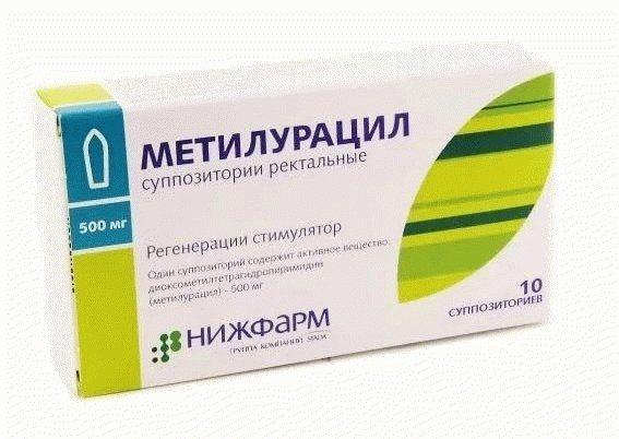 Метилурациловая мазь – все способы эффективного применения препарата