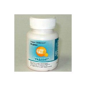 Ундевит – инструкция к препарату, цена, аналоги и отзывы о применении