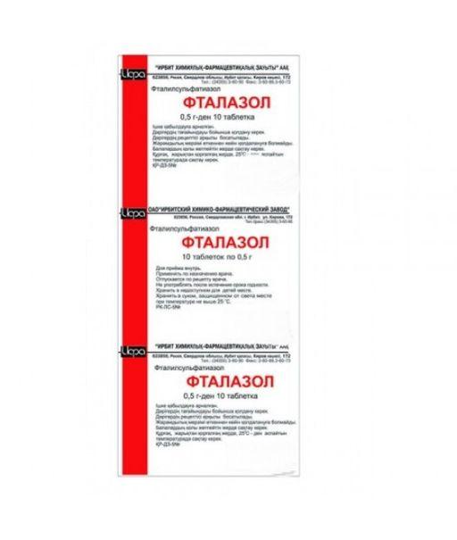 От чего помогает «фталазол». инструкция по применению