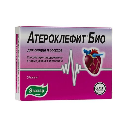 Для чего и как принимать атероклефит и атероклефит био?