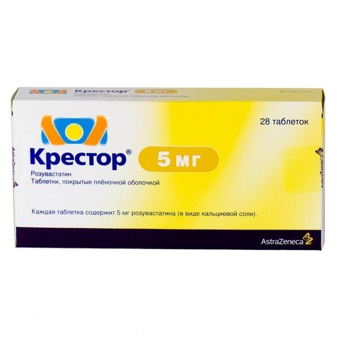 Крестор: инструкция по применению, цена, отзывы, аналоги препарата 5, 10 и 20 мг