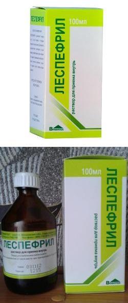 Инструкция по применению препарата леспефлан: побочные эффекты и цены