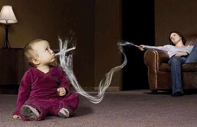 Пассивное курение вреднее активного?