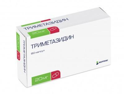 Таблетки 20 и 35 мг триметазидин: инструкция, цена и отзывы