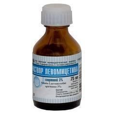 Левомицетиновый спирт в ухо инструкция по применению взрослым и детям