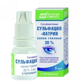 Альбуцид глазные капли: инструкция по применению взрослым