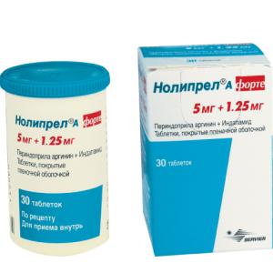 Таблетки нолипрел 2,5 — 10 мг: инструкция, цена и отзывы
