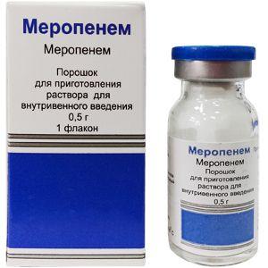 Меронем инструкция по применению антибиотика, производитель