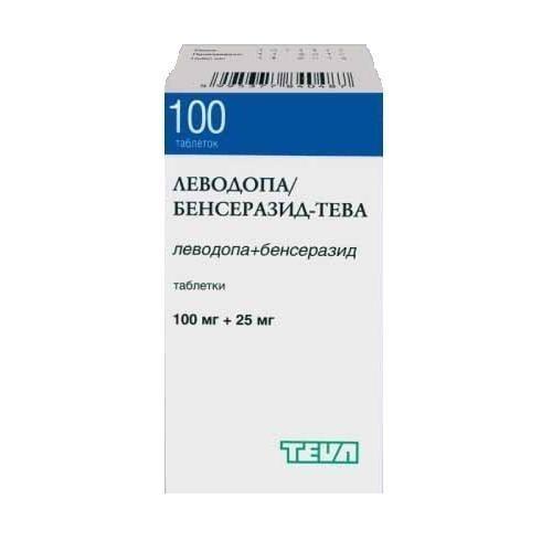 Аналог таблеток леводопа/бенсеразид-тева
