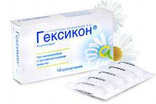 Инструкция по применению препарата «гексикон»: свечи и таблетки