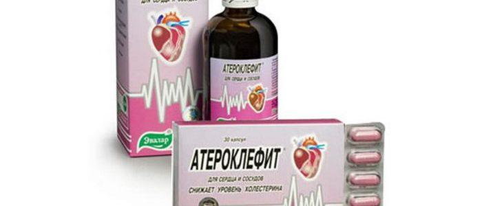 Атероклефит от эвалар — серия натуральных средств для снижения холестерина