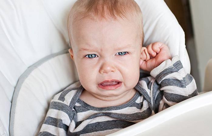 Отит экссудативный у ребенка