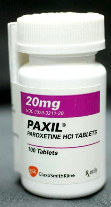 """Антидепрессант """"паксил"""": отзывы врачей"""