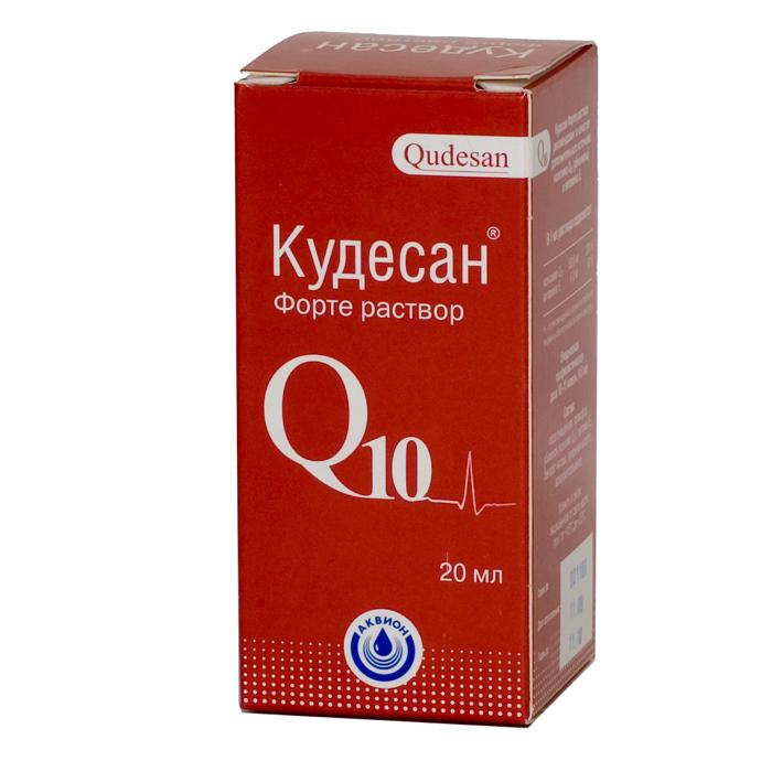 Капли кудесан: инструкция по применению, убидекаренон 30 мг