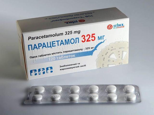 Парацетамол                                             (paracetamol)